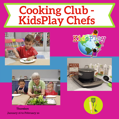 Cooking Club - KidsPlay Chefs