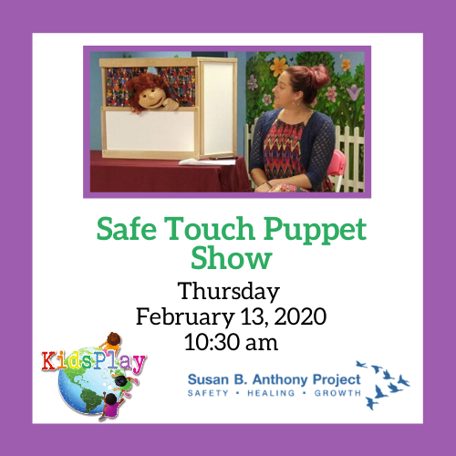 Susan B. Anthony Project Puppet Show