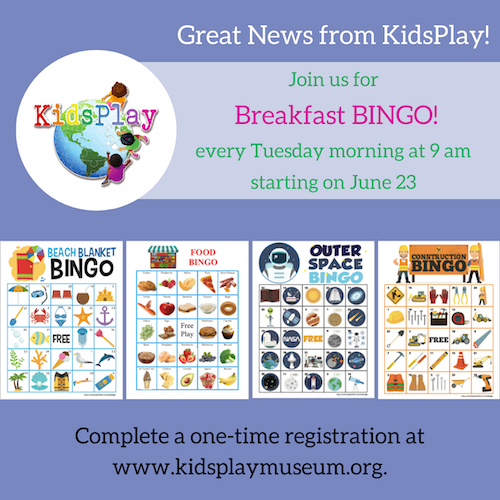 Breakfast Bingo!