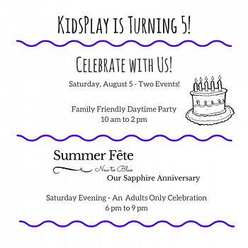 Our 5th Birthday Party and Summer Fête