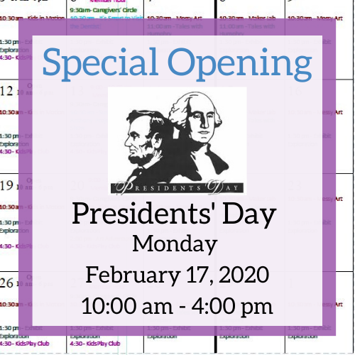 Presidents' Day!