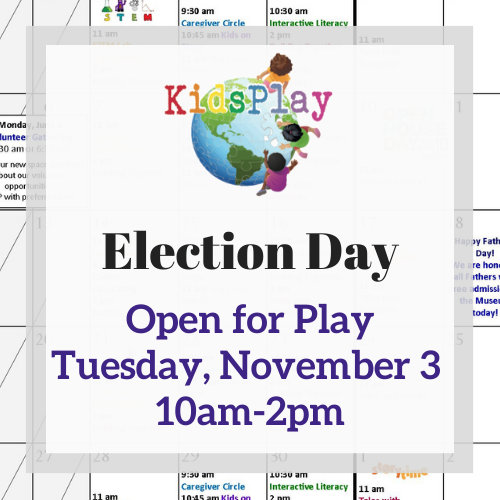 Open for Play on Election Day!
