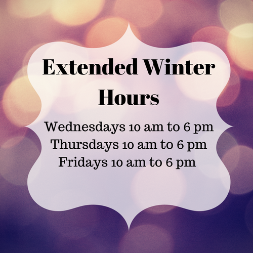 Extended Winter Hours