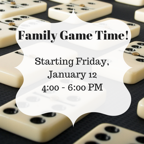 Family Game Time!