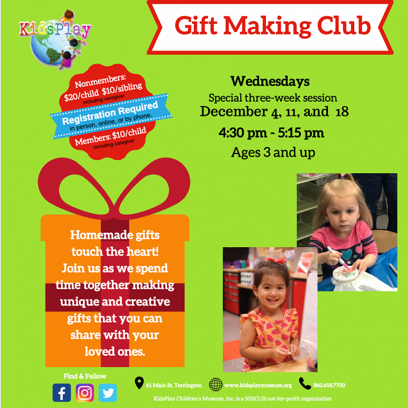 Gift Making Club