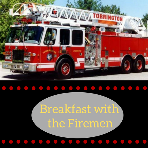 Breakfast with the Firemen