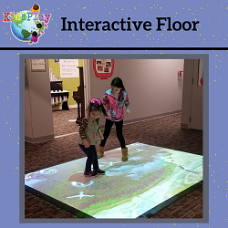 Announcing Our Newest Exhibit, the Interactive Floor!