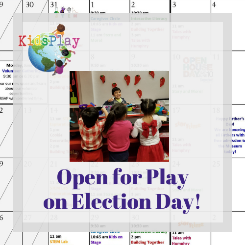 Open for Play on Election Day