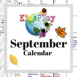 September @ KidsPlay!