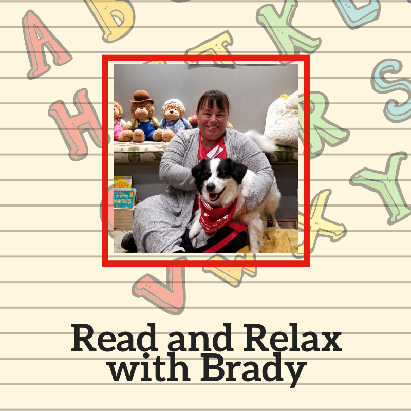 Read and Relax with Brady