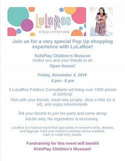 LuLaRoe Shopping Open House