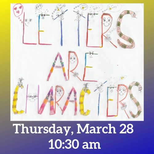 Letters are Characters