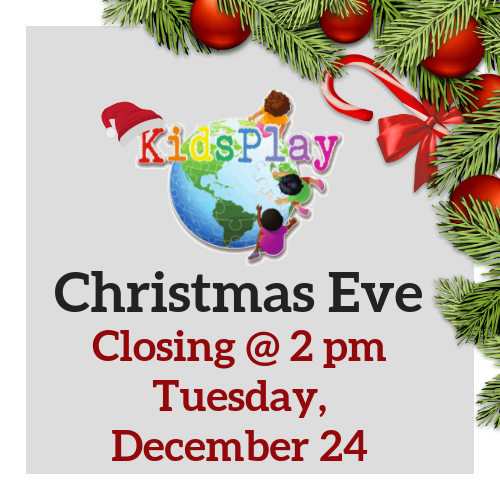 Closing early - Christmas Eve