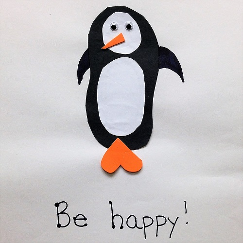 Happy Feet Pop-up Craft
