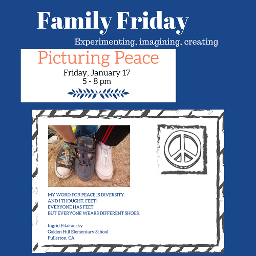Family Friday - Picturing Peace