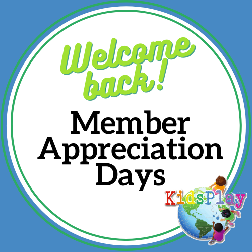 Member Appreciation Days - Open to Members