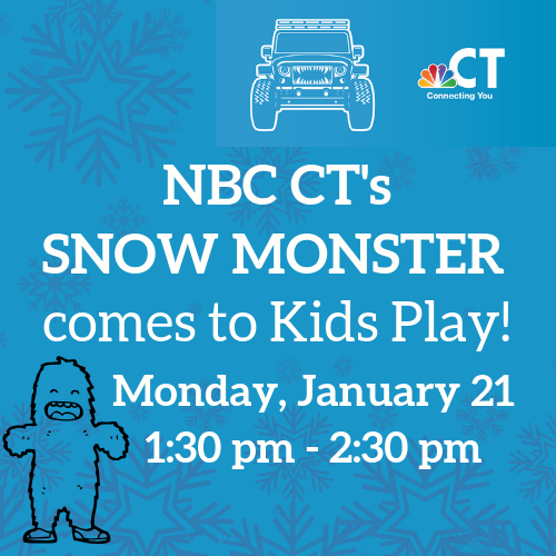NBC's Snow Monster Comes to KP!