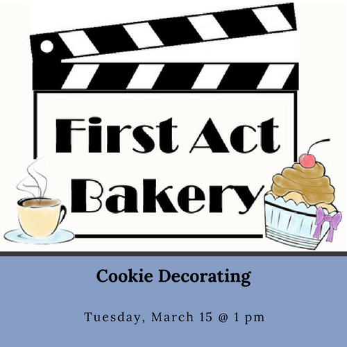 Cookie Decorating with First Act Bakery