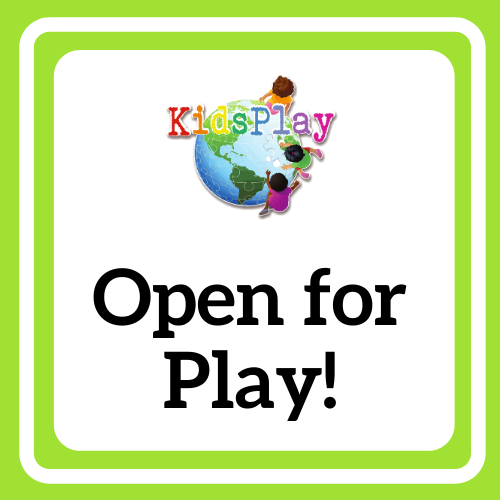 Open for Play!